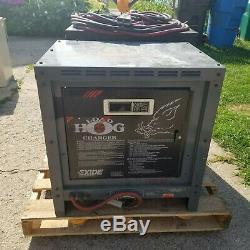 Exide Charge Hog Chariot Électrique Pallet Jack Chargeur Lh3-18-1000