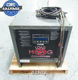 Exide Charge Hog Chariot Élévateur Chargeur De Batterie Lh3-18-1000b