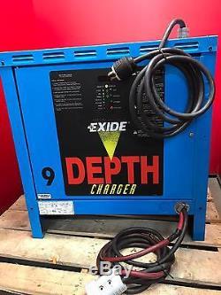 Exide D3e-18 1050 Chargeur De Profondeur, Chargeur De Batterie 24 VDC Forklift