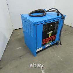 Exide D3e-18-1050b 36v 18 Cell La Forklift Battery Charger 208-240/480v