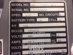 Exide Gnb Ferro Chargeur De Batterie De Chariot Élévateur Électrique Gwm12 12 Cellules 24 Volts X 4 Banque