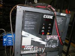 Exide Yuasa 24v Chargeur De Batterie W3-12-550 208/240/480 Chariot Élévateur 550 Ah Workhog