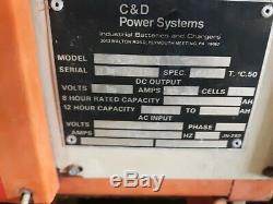 Ferro Five 24v 1 Phase Chariot Chargeur De Batterie Fr12ce450 85a 12 Cellule