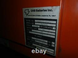 Gnb Ferro Charger Forklift Chargeur De Batterie 36 Volts Autocharge