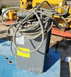 Gnb Industrial Ehf 36v Chargeur De Batteries Au Plomb Ehf36t130 480v Trois Phases