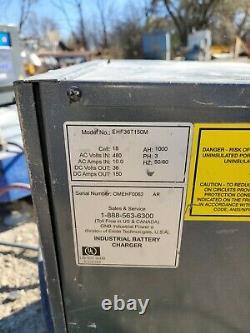 Gnb Industrial Ehf 36v Chargeur De Batteries Au Plomb Ehp36t150m 480v Trois Phases