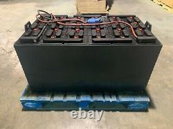 Gnb Marathon 48v 24-85-19 Chariot Élévateur Batterie Excellent État