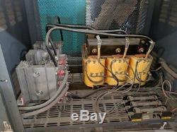 Gnb Scr100-24-965-tiz 48v 965 Ah Chariot Élévateur Chargeur De Batterie 3 Phases 208v 240v 480v