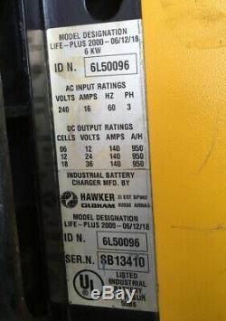 Hawker Life-plus 2000, Chariot Élévateur Salut-freq Chargeur Intelligent 24/36/48 V 3 Ph
