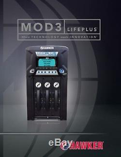 Hawker Lifeplus Mod3 24/36/48 Volt Chargeur De Batterie Pour Chariot Élévateur Industriel 480v