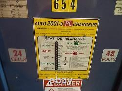 Hawker Oldham Hawker Auto 48vdc Chargeur De Batterie, 600v/3ph/50/60 Cyc Ac Entrée