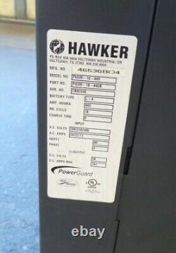 Hawker, Powerguard, Chargeur De Batterie, Ph3m-18-865b, 18 Cellules, 208/240/480v