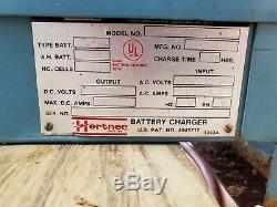 Hertner Auto 1000 24v Chariot Électrique Chargeur De Batterie