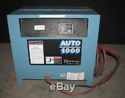 Hertner Auto 1000 36v Chariot Élévateur Électrique Chargeur De Batterie (# 2727)