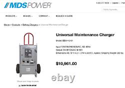 Hindlepower Mds Power Portable Universal Battery Charger Bb0443-01 10 961 $