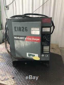 Hobart 600b1-18 36v Chariot Élévateur Chargeur De Batterie 451-600ah 8 H 208/240 / 480v 1ph