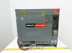 Hobart 600c3-24 Accu-chargeur 48v 480vac Entrée Chariot Chargeur De Batterie 24 Cellules