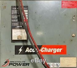 Hobart 600c3-36 208-240 / 480v Entrée 36 Cellule Chariot Chargeur De Batterie