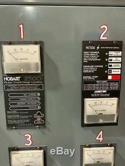 Hobart Accu Charger 4 En 1 Chariot Élévateur Électrique Palette Jack Station De Charge 24v DC