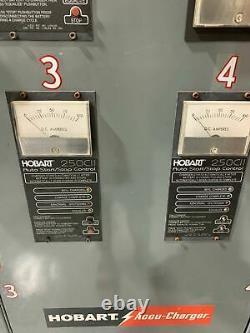 Hobart Accu Charger 4 En 1 Electric Forklift Pallet Jack Charging Station 24v DC