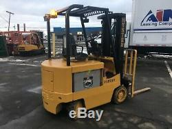 Hyster 4 Roues Chariot 5000lb Cap. 191 Lift 42 Forks, 36v Withbattery Et Chargeur