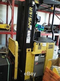 Hyster Chariot Élévateur N40xmr2 N 40 Avec Chargeur Nouvelles Batteries 10 Ans Warrenty