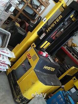 Hyster R30xms2 Chariot Élévateur À Palettes Électriques Avec Chargeur Nouvelles Batteries 10 Y Warrenty