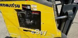 Kamatsu Fs23sh-1 Bsx Chariot Élévateur Électrique 3800lb Batterie À Décalage Latéral Et Chargeur