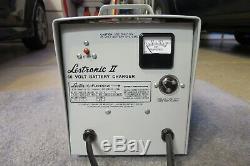 L'acide Conduit Lestronic Chargeur De Batterie 60 Volts Golf Chariot Élévateur À Fourche Panier
