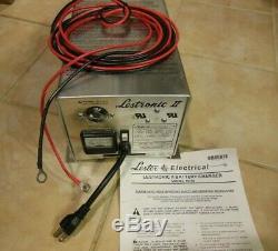 Lester Lestronic Chargeur De Batterie Modèle 19740 24v 66412 Genie Awp Scissor Lift
