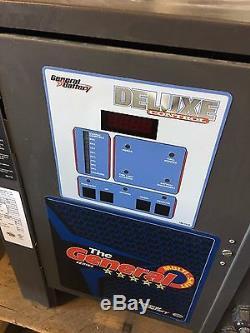 Multi Shift Chargeur De Batterie 24 Volts Général Batterie Mx1-12-600 Chariot Élévateur