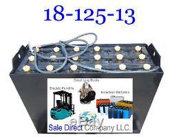 Nouveau 18-125-13 Batterie De Chariot Élévateur 36 Volts