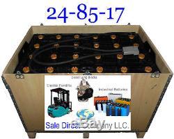 Nouveau 24-85-17 Forklift Battery 48 Volt
