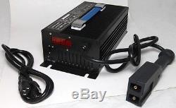 Nouveau 48v 15a Chariot Élévateur Et Chargeur De Batterie De Chariot De Golf Plug Powerwise Pour Yamaha Ezgo