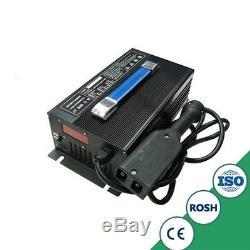 Nouveau 48v 15a Ezgo Panier De Voiture Chargeur De Batterie Chariot Élévateur Powerwise Ezgo Txt