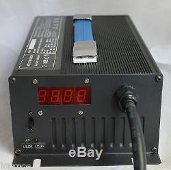 Nouveau 48v Ezgo Panier De Voiture Chargeur De Batterie 15a Chariot À Fourche 48 Volt 15 Amp Powerwise Yam