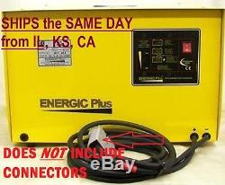 Nouveau Chargeur De Batterie De Forklift 36 Volt 60 Amp 240v Navires Simples À La Phase Le Même Jour