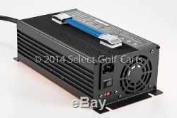 Nouveau Chargeur De Batterie Pour Voiture De Golf 48v 15 Ampères 48 Volt Club Chariot À Moteur Ezgo Yamaha