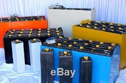 Nouveau Modèle De Batterie À Fourche 12-85-5 24 Volt Dims (l25.91xw5.75xh23.25)