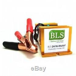 Nouvelle Vie De Vie De Batterie Bls24 / 36 Multi-f Bonjour Pwr Désulfateur De Chariot Élévateur Industriel
