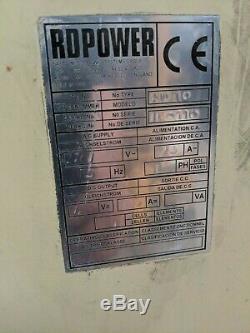 Rd Power Rd90 Chargeur De Batterie Monophasé Pour Chariot Élévateur 48 V