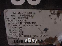Tennant 36v Chargeur De Batterie 208/240 / 480v 1 Balayeur De Phase Chariot Élévateur Pallet Jacks